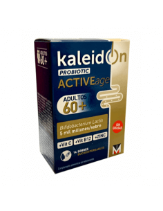 KALEIDON ACTIVEAGE 60+ PROBIOTIC 14 SOBRES BUCODISPERSABLES