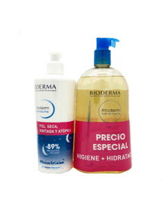 BIODERMA ATODERM INTENSIVE CREMA 500 ML + ACEITE 1000 ML PACK