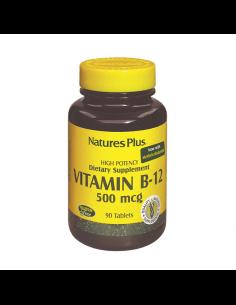 NATURE'S PLUS VITAMINA B12 500 MG 90 COMPRIMIDOS