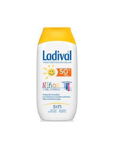 LADIVAL NIÑOS LECHE HIDRATANTE SPF50+ 200 ML