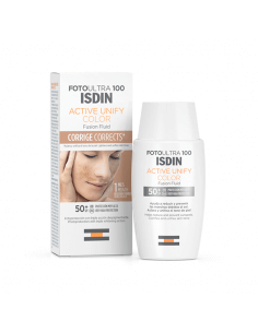 ISDIN FOTOULTRA 100 ACTIVE UNIFY COLOR FUSION FLUID SPF50+ 50 ML